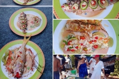 Yellowtail cook off